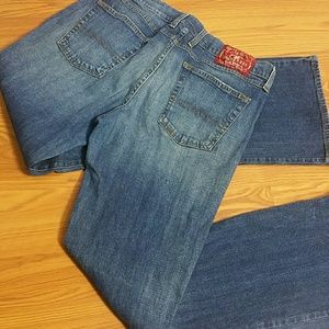 """Lucky Brand Mid-rise flare Jeans Size 12/31Wx31""""L"""
